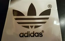 "ADIDAS PATCH  Logo PATCH HOT IRON ON TRANSFER    patch 3"" x 3"" Black"
