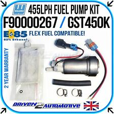 WALBRO E85 FAST ROAD / RACE 455 LPH FUEL PUMP E85 COMPATIBLE + WALBRO KIT SALE