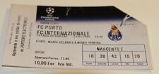 Ticket for collectors CL FC Porto - Inter Milan 2005 Portugal Italy