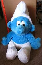 "SMURFS jumbo doll Peyo cartoon 1999 animated TV show Brussels plush 18"" import"