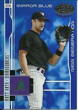 2003 Leaf Certified Materials Mirror Blue Matt Kata 210 Diamondbacks 33/50
