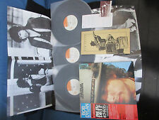 Bob Dylan Masterpieces Japan Planned Triple Vinyl LP w OBI Numbered Card Poster