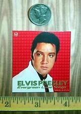 """1:6 Scale Dollhouse Miniature Elvis Album Covers or 1:12 Scale """"Tin""""Wall Art"""