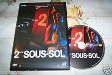 DVD 2é SOUS-SOL FILM D'HORREUR
