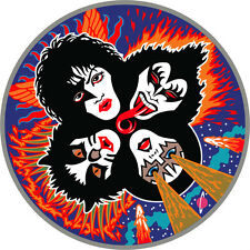 "KISS Music Bumper Sticker  5"" x  5"""