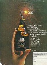 Publicité Old Spice Burley 1970 after shave