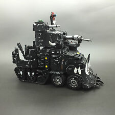 Games Workshop WARHAMMER 40,000 40k Ork Battlewagon dipinto
