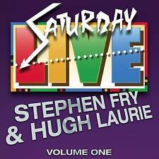 STEPHEN FRY & HUGH LAURIE SATURDAY NIGHT LIVE VOL 1 2 X CD COMEDY AUDIO BOOK
