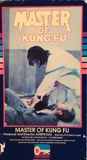 Master of Kung Fu (VHS) rare 1975 martial arts flick
