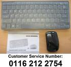 """Black Wireless Mini Keyboard and Mouse for Samsung 40"""" JU6000 LED HD Smart TV"""