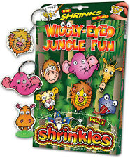 Wiggly Eye Jungle Fun Ornamento SHRINKLES SHRINK ART Paraurti Set & Matite