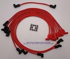 88-95 CHEVY/GMC PICKUP 1500 &2500 5.0L/305 5.7L/350 TBI RED MAXX Spark Plug Wire