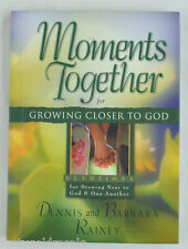 Moments Together Gift Book: Moments Together for Growing Closer to God by Rainey