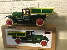Tin Litho Tip Lorry Truck Wind up Clockwork Mechanism New