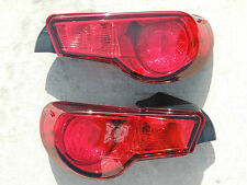 13-14 Scion FRS, Subaru BRZ OEM CUSTOM Red Out Tail Lights Redout CANDY PAINTED