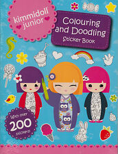Colouring and Doodling Sticker Book by Scholastic NEW BOOK (Paperback, 2015)