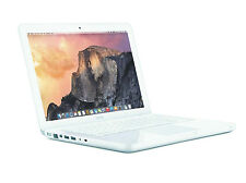 "Apple Macbook Intel 2.40 GHz 2GB 250GB 13"" MC516LL/A White Laptop A1342"