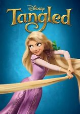 Walt Disney's Tangled movie poster print  :  12 x 17 inches - Rapunzel