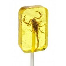 Scorpion Lollipop Candy - Banana Flavor - Fear Factor - Real Insect - Gag Gift