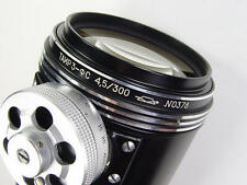 Telelens Tair-3s f/4.5/300 from Photosniper set M42 screw mount s/n 0378.