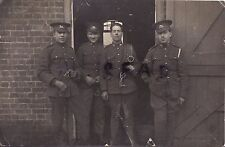 WW1 Soldier Group 3rd Hussars Rhine Army of Occupation