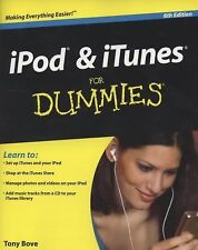 iPod and iTunes for Dummies by Cheryl Rhodes and Tony Bove (2008, Paperback)