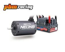 TEAM ORION NEON 8 BRUSHLESS 1 / 8th IMPERMEABILE MOTOR & Speedo COMBO 2100KV 66095