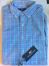 NEW MENS VINEYARD VINES SLIM FIT MURRAY CANAAN VALLEY PLAID SHIRT  MEDIUM  NWT