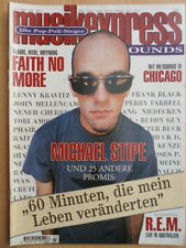 MUSIKEXPRESS 3/1995 Michael Stipe R:E:M: Faith No More John Lee Hooker Chicago