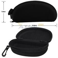 Man Woman Hard Case Box Glasses Sunglass Bag with Hock and Zipper for Outdoor