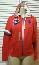 NEW! U.S. POLO ASSASIN CLASSIC HOODIE MULTI COLOR  LARGE