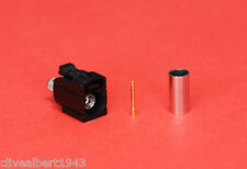 "1 x FAKRA ""Analogue Radio"" Female RG58 Black Code A Connector ""NEW"""