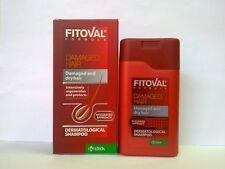 FITOVAL SHAMPOO 100ml DAMAGED WEAK HAIR TREATMENT HAIR LOSS FAST DELIVERY