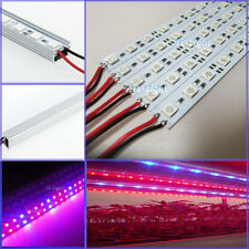 10pcs 0.5M 5050 Rigid grow LED Red Blue 3:1 36 SMD Light Hard Strip & U AL Case