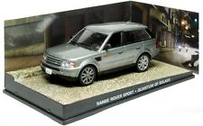 Range Rover Sport, Silver 007 Movie, Quantum of Solace, IXO Altaya  Diecast 1/43