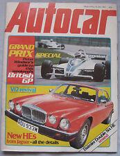 Autocar magazine 18/7/1981 featuring Daimler Double-Six road test, Jaguar
