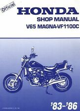 Honda V65 Magna, VF1100C, 1983-1986  Repair  Service Manual PDF