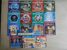 22 CHILDRENS CHRISTMAS STORIES AND FAIRY TALES ON 15 PROMO DVDS - MOST UNPLAYED