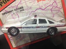 Road Champs 1:43 scale diecast 1997 Chevrolet Sprinfield IL Police