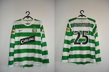 AUTHENTIC CELTIC HOME 2007 2008 HOME NAKAMURA MEDIUM NIKE JERSEY SHIRT