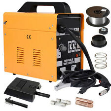 MIG 130 Electric Welder Welding Machine Kit Set 110V with Spool Wire Mask 2 Tips