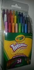 Crayola 24 count Color Mini Twistable Crayons Twistables New Art School Supply