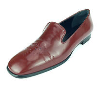 Anne Klein Red Patent Leather Women's Shoe Size 7.5 Loafers
