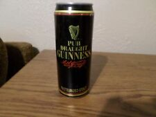 Vintage Pub Draught Guinness Pasteurized Stout Dublin Ireland Beer Can