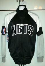 N.B.A Nets mitchell and ness first quater track jacket