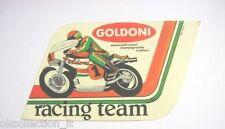 ADESIVO MOTO anni '80 / Old Sticker TRATTORI GOLDONI RACING TEAM (cm 15 x 9,5)