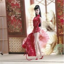 CHINOISERIE Red Moon Silkstone Barbie doll and fashion Gold Label 2004