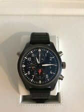 IWC Top Gun Pilot Split Double Chronograph- Black Ceramic IW379901