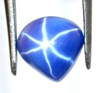 1.40 Ct Natural Pear Certified 6 Rays Star Blue Sapphire  Gemstone
