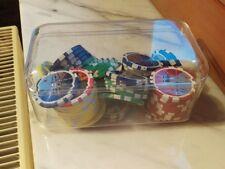 50 Pokerchips (glänzend) + 1 WWE Chip